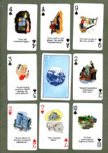 Collectable Canadian  Non-standard playing cards.New Environment